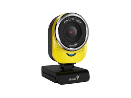 Genius qCam 6000 Full HD Webkamera Yellow