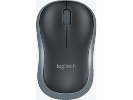 Logitech M185 Swift Grey wireless notebook egér (910-002238)