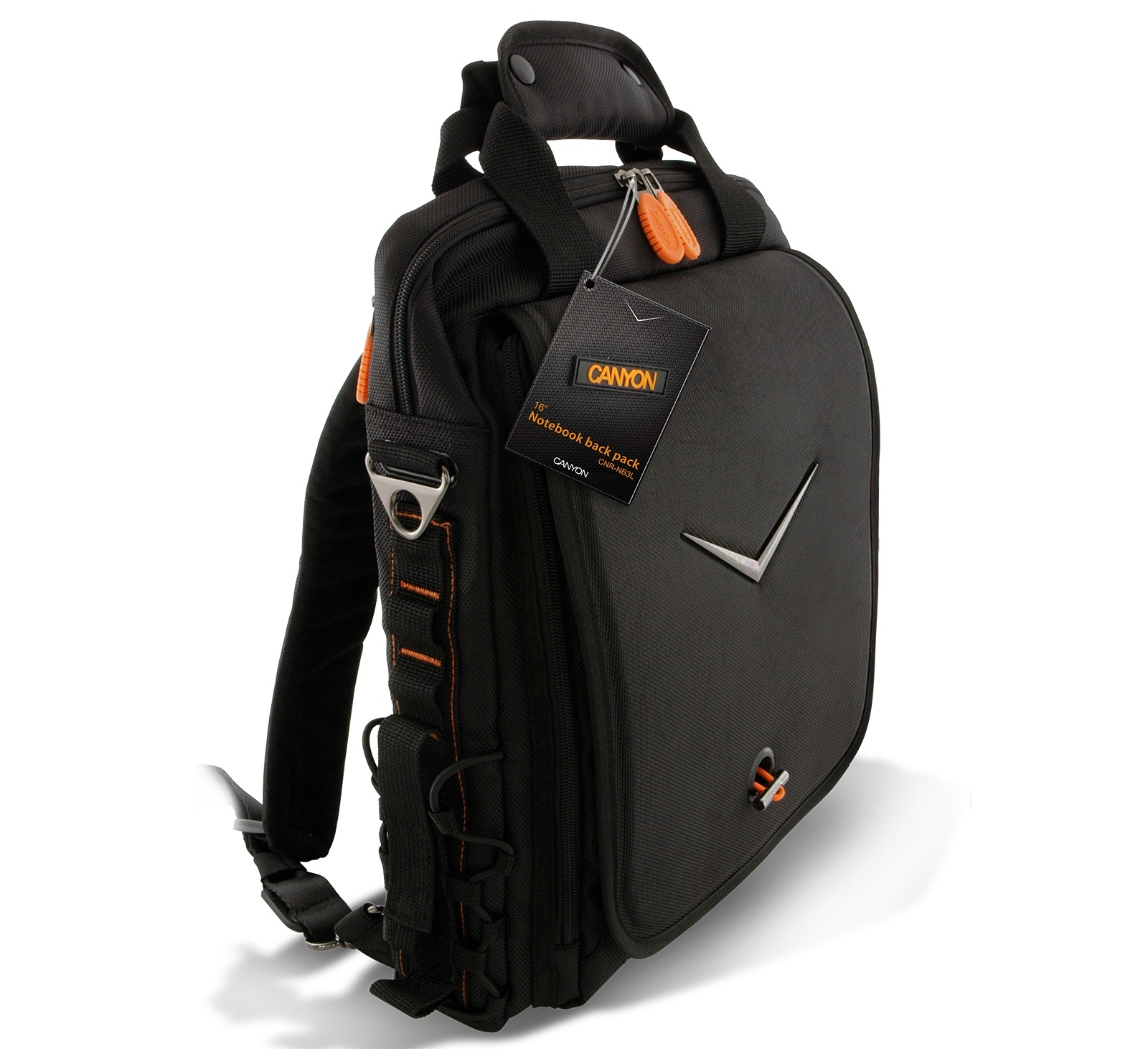 CANYON CNR-NB3L1 Backpack Black 16