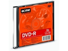 ACME DVD-R 4,7GB slim tokos DVD lemez