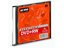 ACME DVD+RW 4,7GB slim tokos DVD lemez
