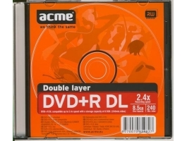 ACME DVD+R DL 8,5GB slim tokos DVD lemez
