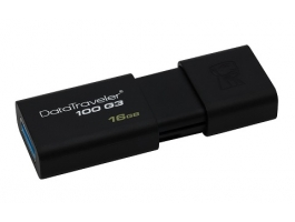 Kingston 16GB USB3.0 Fekete (DT100G3/16GB) pendrive