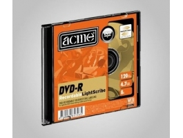 ACME DVD-R 4,7GB Lightscribe slim tokos DVD lemez