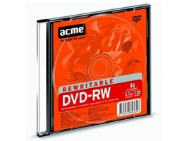 ACME DVD-RW 4,7GB slim tokos DVD lemez