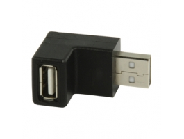 Valueline (VLCP60930B) USB2.0 USB derékszögű adapter
