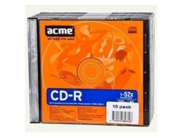 ACME CD-R 700MB 52x 10db Slim tok