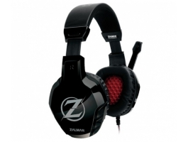 ZALMAN ZM-HPS300 Gaming headset (2m kábel, 2x 3-pin 3,5mm jack)
