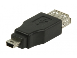 Valueline (VLCP60902B) USB2.0 A - miniUSB 5pin átalakító adapter