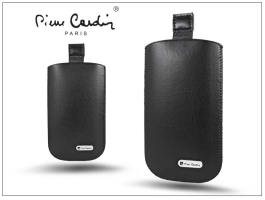 Pierre Cardin Slim univerzális tok - Apple iPhone 3GS/Sony Xperia E/Nokia X - Black - 5. méret