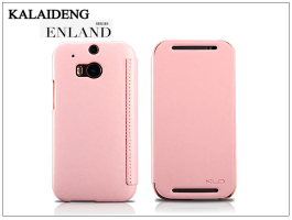 HTC One M8 flipes tok - Kalaideng Enland Series - pink