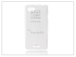 Sony Xperia E3 (D2203) szilikon hátlap - Ultra Slim 0,3 mm - transparent