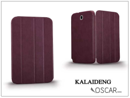 Samsung N5100 Galaxy Note 8.0 tok (Book Case) - Kalaideng Oscar Series - dark red