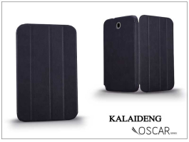 Samsung N5100 Galaxy Note 8.0 tok (Book Case) - Kalaideng Oscar Series - dark blue