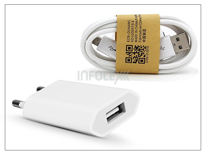 Univerzális USB hálózati töltő adapter és micro USB