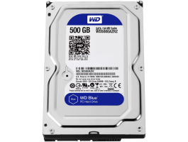 "Western Digital 500GB WD5000AZRZ Caviar Blue 5400RPM 64MB SATA3 3.5"" HDD"
