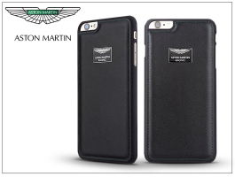 Apple iPhone 6/6S valódi bőr hátlap - Aston Martin Racing - black