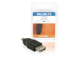 Valueline USB2.0 USB-A anya - Mini USB 5 pin apa adapter (VLCB60902B)