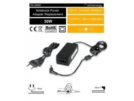 Whitenergy 06667 (19V/1.58A, 30W, 4.0x1.7mm) notebook töltő adapter