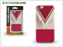 Apple iPhone 7/iPhone 8 szilikon hátlap - BCN Caseland V Neck Rojo - red