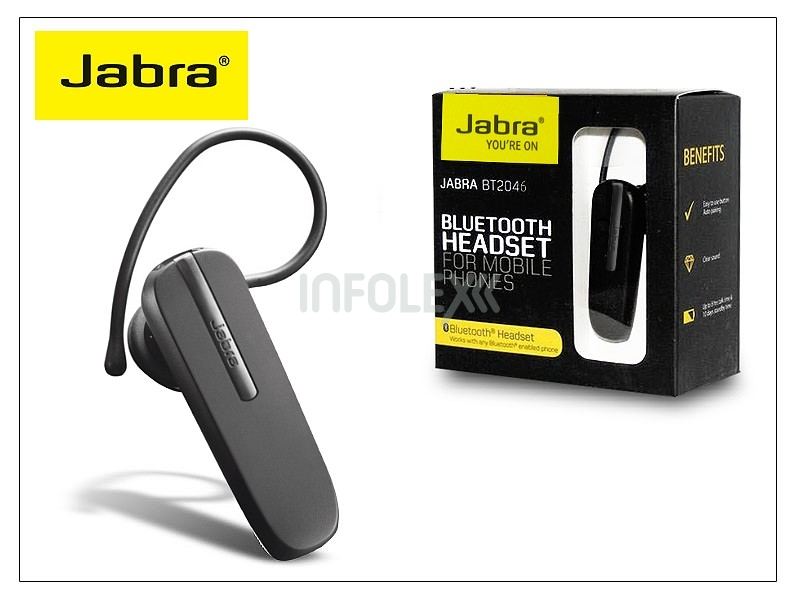 Jabra BT2046 Bluetooth headset v2.1 - MultiPoint - USB töltős