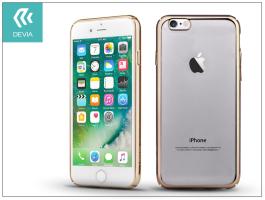 Apple iPhone 7/iPhone 8 hátlap - Devia Glimmer - champagne gold