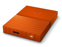 "Western Digital 1TB My Passport Orange 2,5"" USB3.0 HDD (WDBYNN0010BOR)"