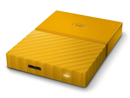 "Western Digital 1TB My Passport Yellow 2,5"" USB3.0 HDD (WDBYNN0010BYL)"