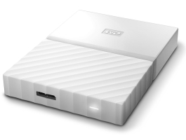 "Western Digital 1TB My Passport White 2,5"" USB3.0 HDD (WDBYNN0010BWT)"