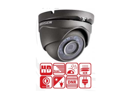 Hikvision DS-2CE56D0T-IRM(3.6MM)(GREY) Dome HD-TVI kamera