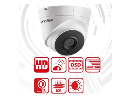 Hikvision DS-2CE56F1T-IT3(3.6MM) Dome HD-TVI kamera
