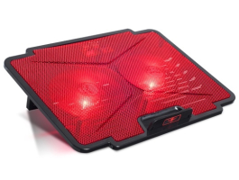"Spirit of Gamer AIRBLADE 100 Red Notebook Hűtőpad 15,6""-ig (SOG-VE100RE)"