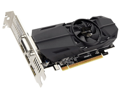 Gigabyte GeForce GTX 1050 Ti OC Low Profile 4G (GV-N105TOC-4GL) 4GB videokártya
