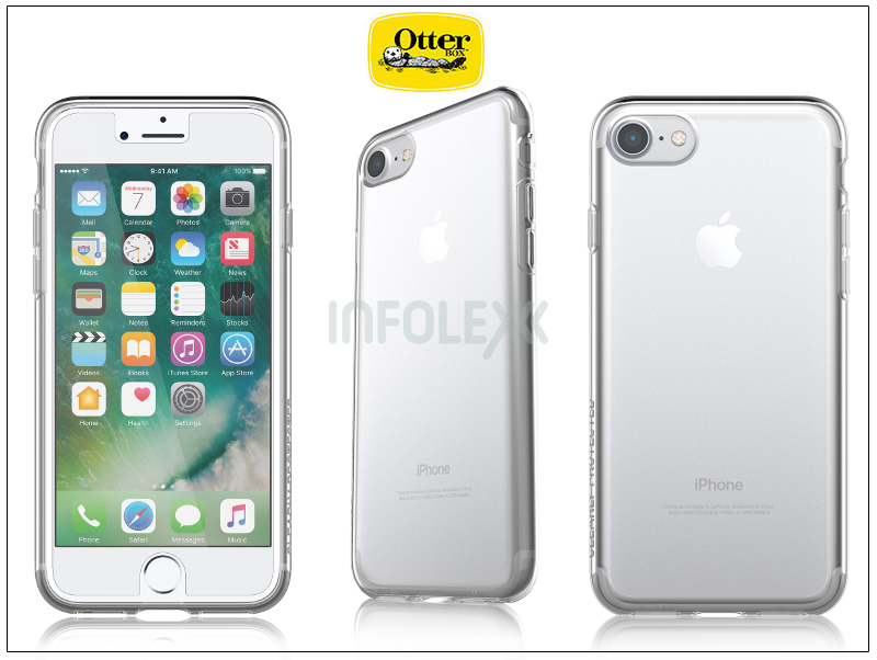 big sale 54430 3bcc5 Apple iPhone 7/iPhone 8 védőtok - OtterBox Clearly Protected Skin - clear