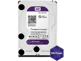 "Western Digital 1TB Purple (WD10PURZ) SATA3 5400RPM 64MB 3,5"" merevlemez"