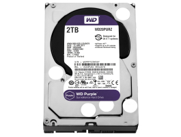 "Western Digital 2TB Purple (WD20PURZ) SATA3 5400RPM 64MB 3,5"" merevlemez"