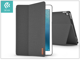 Apple iPad Pro 10.5/iPad Air (2019) védőtok (Smart Case) on/off funkcióval - Devia Flax Flip - black