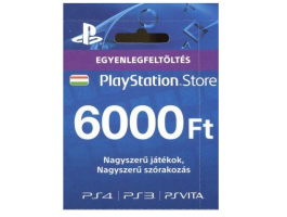 SONY PSN PlayStation Live Card (PS4) 6000 Ft (PS719896333)