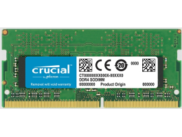 Crucial 8G/2400 CL17 Crucial Single Rank DDR4 notebook memória (CT8G4SFS824A)