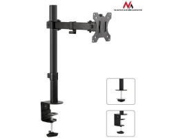 Maclean (MC-752) Monitor desk bracket 13-32 8kg vesa 75x75, 100x100 single arm