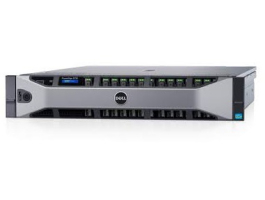Dell EMC rack szerver PowerEdge R730 XD, 1x 8C E5-2620v4 2.1GHz, 1x16GB, 2x120GB SSD, NoHDD NoOS.
