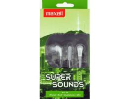 Maxell Super Sounds fehér fülhallgató MXH-IE200GRA (303734) 832757c774
