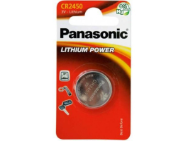 Panasonic CR2450 Lithium 3V 1-blister gombelem (BK-CR2450-1B)