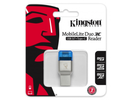 Kingston FCR-ML3C MobileLite DUO 3C USB 3.1+Type C kártyaolvasó