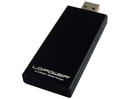 LC-Power LC-USB-M2 m.2 SSD (42x22mm/30x22mm) USB3.0 mobil rack
