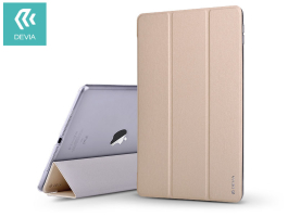 Apple iPad Pro 11 (2018) védőtok (Smart Case) on/off funkcióval - Devia Light Grace - gold