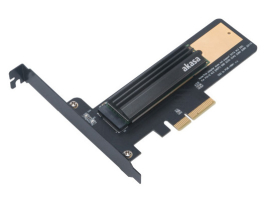 Akasa M.2 SSD to PCIe adapter card with heatsink cooler (AK-PCCM2P-02)