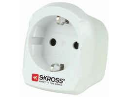 Skross Utazó Adapter Europe to UK Földelt (SKR1500230E)