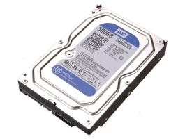 "Western Digital 500GB Blue WD5000AZLX 7200rpm 32MB SATA3 3,5"" HDD"
