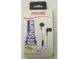 Maxell Share Earphone Grey mikrofonos fülhallgató (303990)